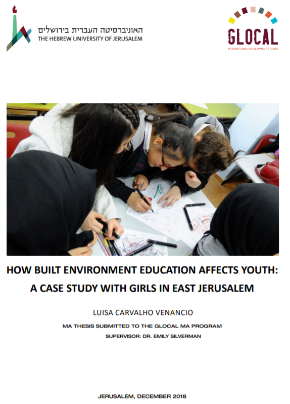 How build environment education affects youth - Luisa Venancio