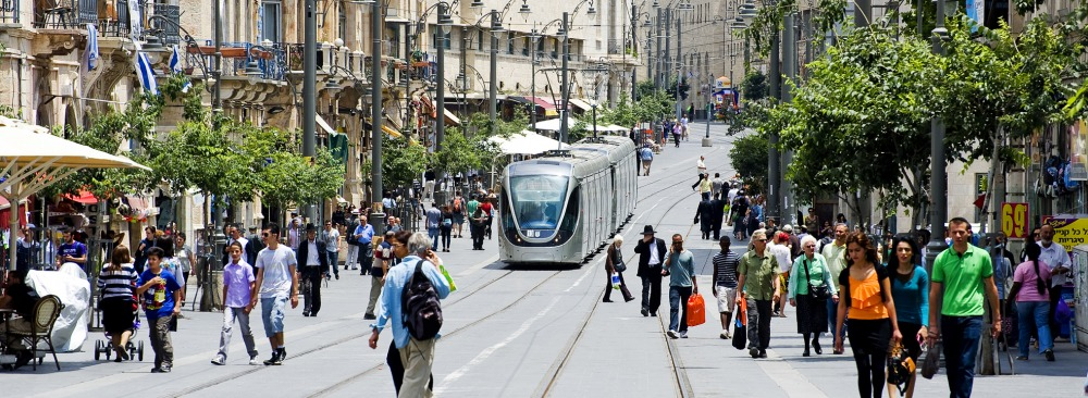 light rail in Jerusalem