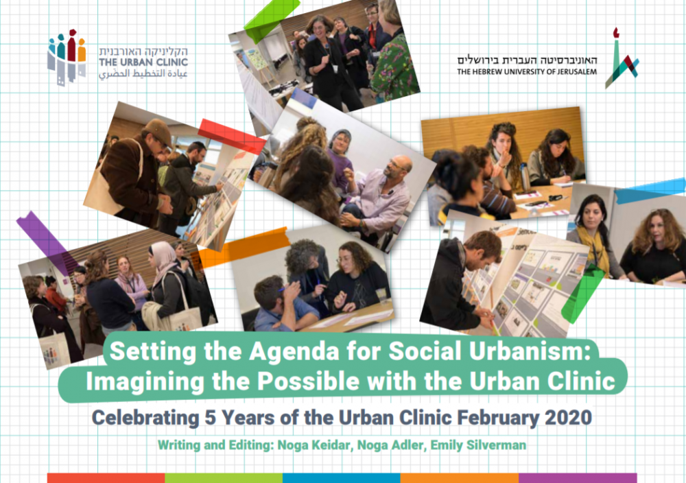 Setting the Agenda for Socail Urbanism - 5 Years for the Urban Clinic, 2020